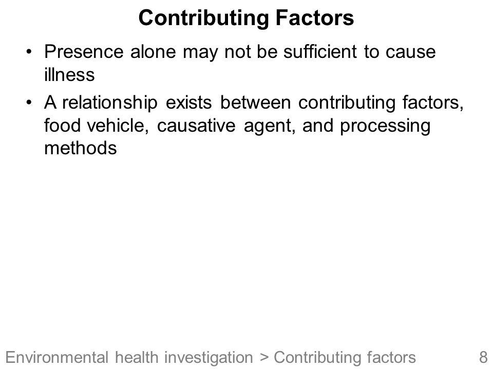 49Environmental health investigation Quick Quiz