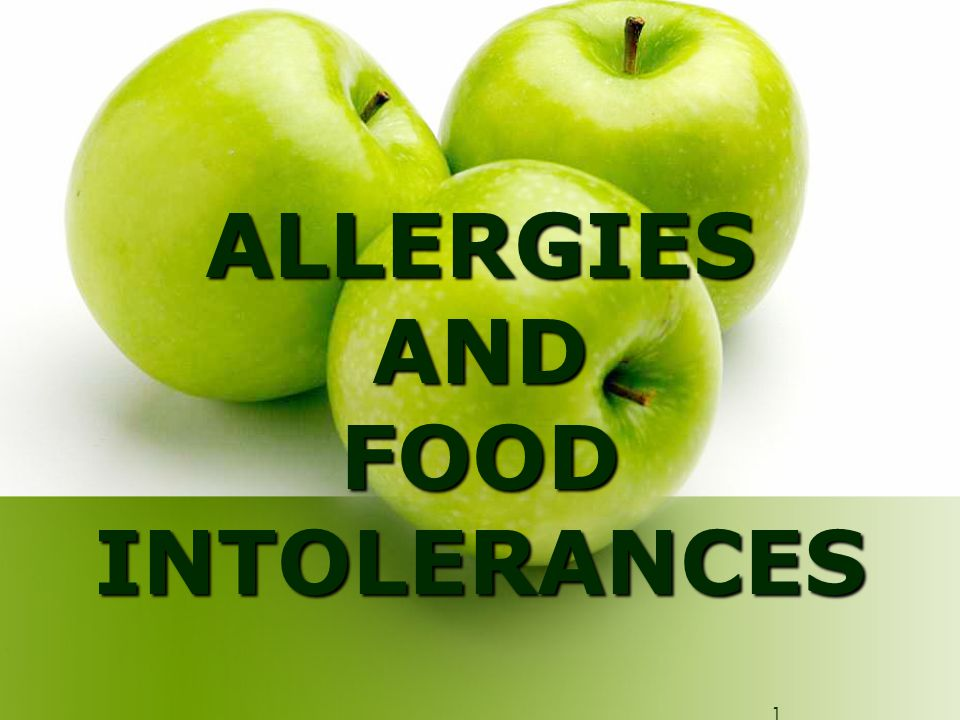 Treatment of food allergies REMOVE FROM THE DIET – however ensure that nutrient balance is not compromised.