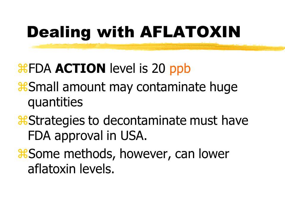 Aflatoxin Detection zBlack Light test - BYG fluorescence yAbused.