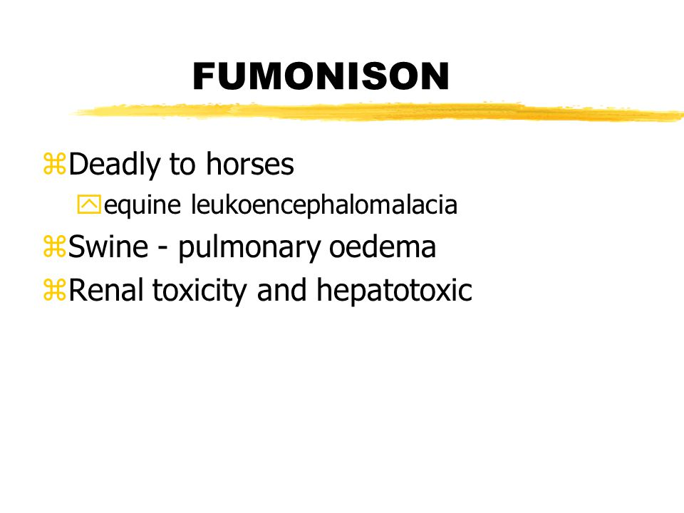 Additional Mycotoxins