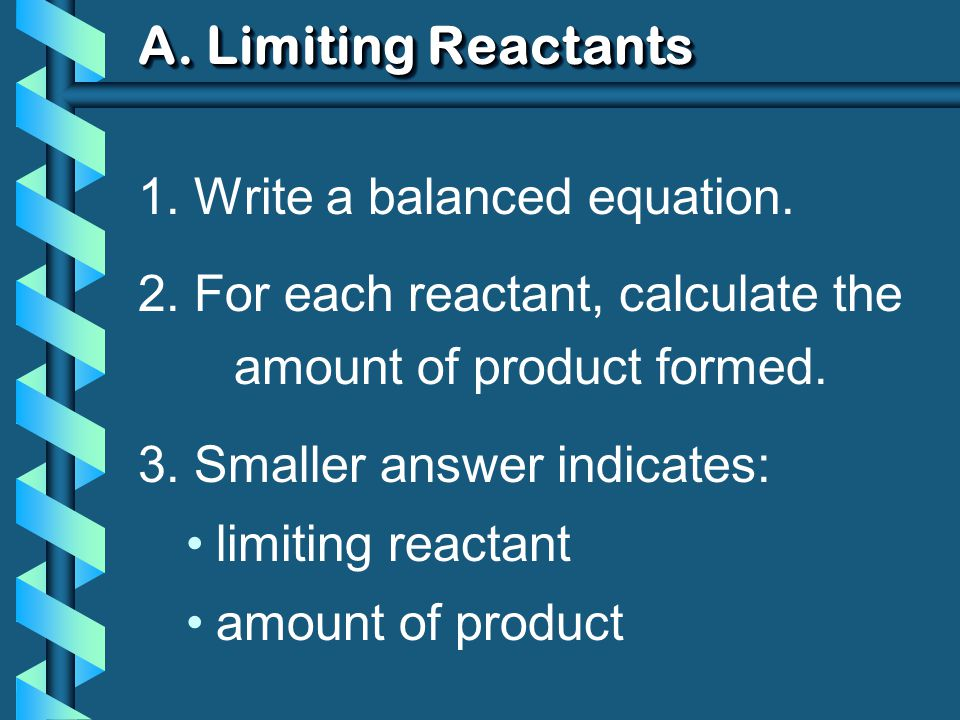 A.Limiting Reactants b 79.1 g of zinc react with 0.90 L of 2.5M HCl.