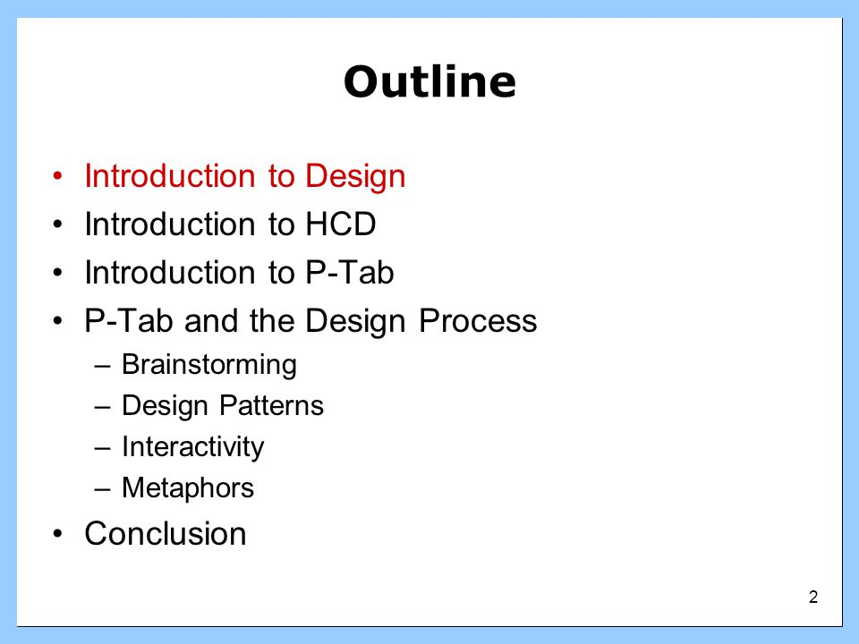 3 Introduction to Design What is software design.