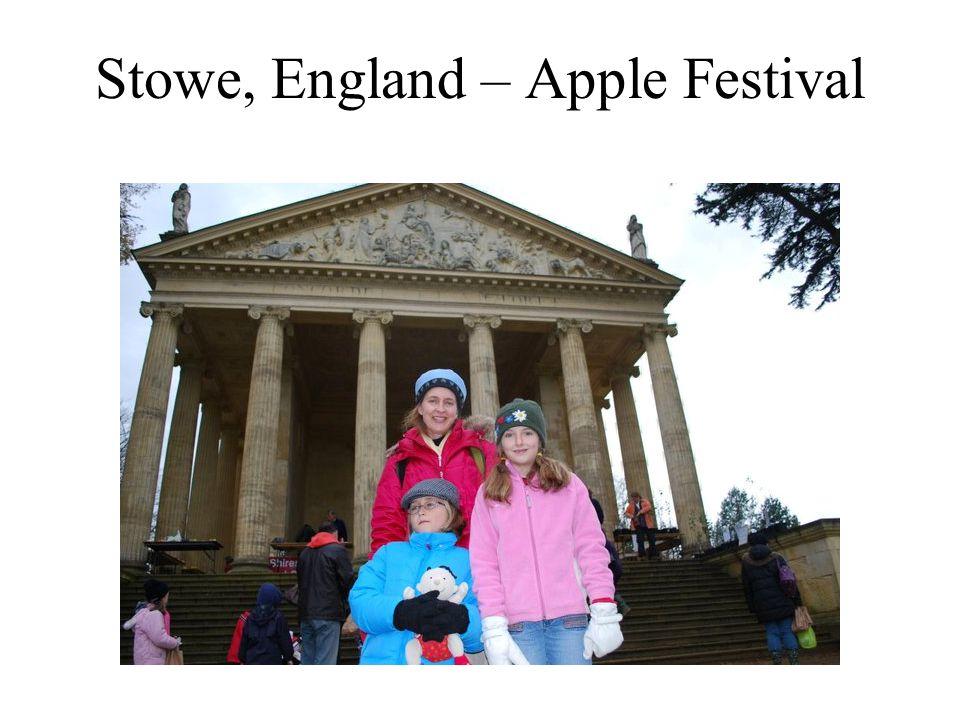 Stowe, England – Apple Festival