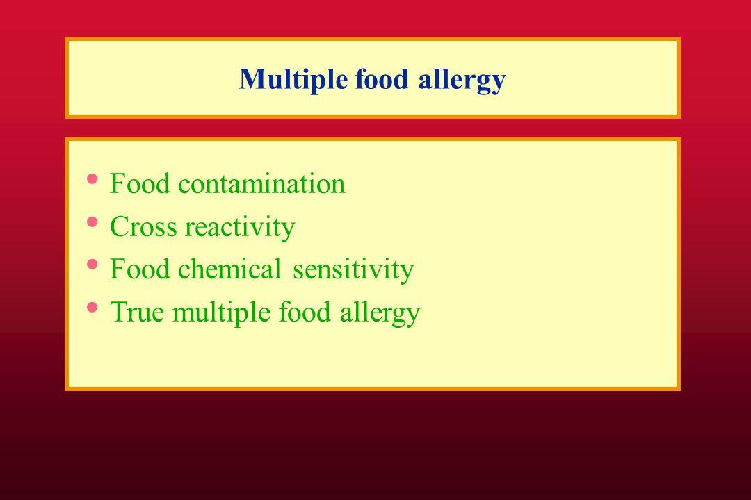 Food cross-reactivity