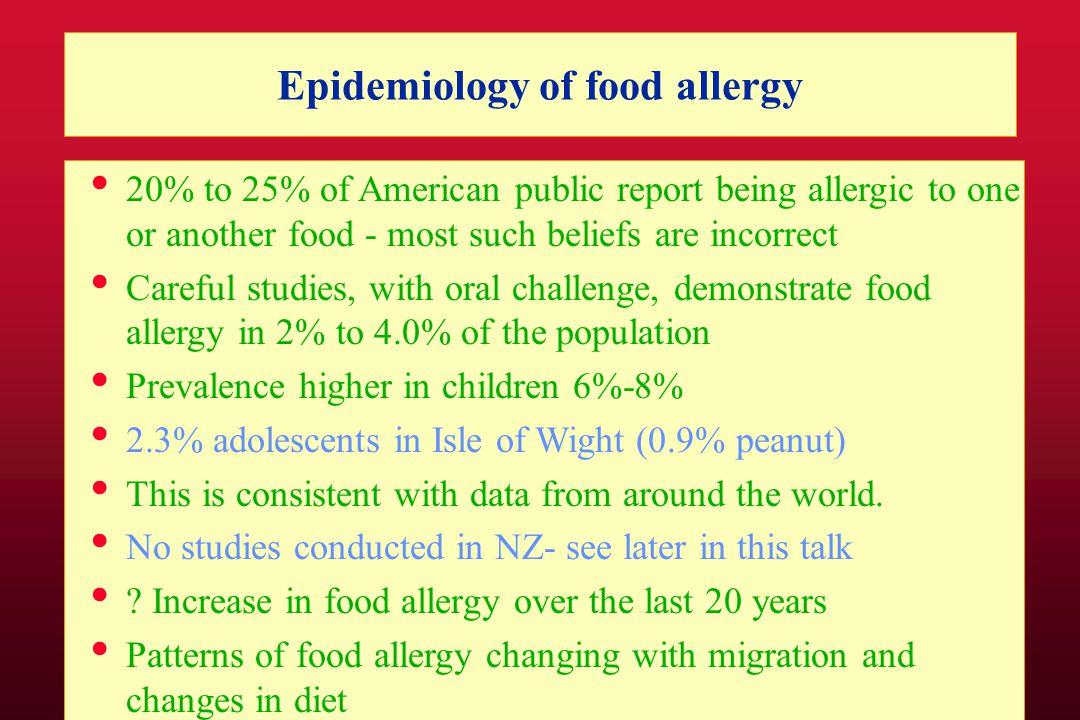 Pilot study of Plunket Clinics in Auckland FA symptoms: eczema