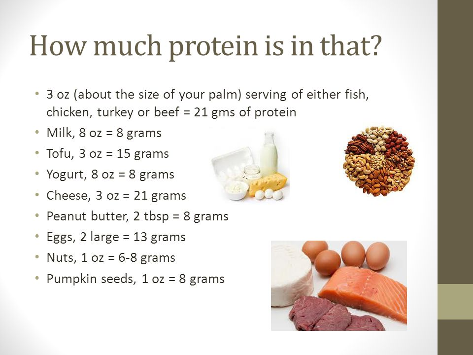 How much protein is in that.