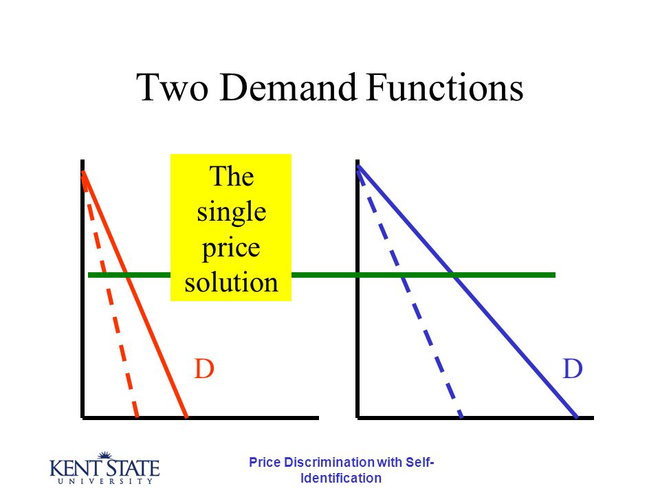 Price Discrimination with Self- Identification Two Examples At one time, Xerox leased machines at $25 per month and 3.5 cents per page.