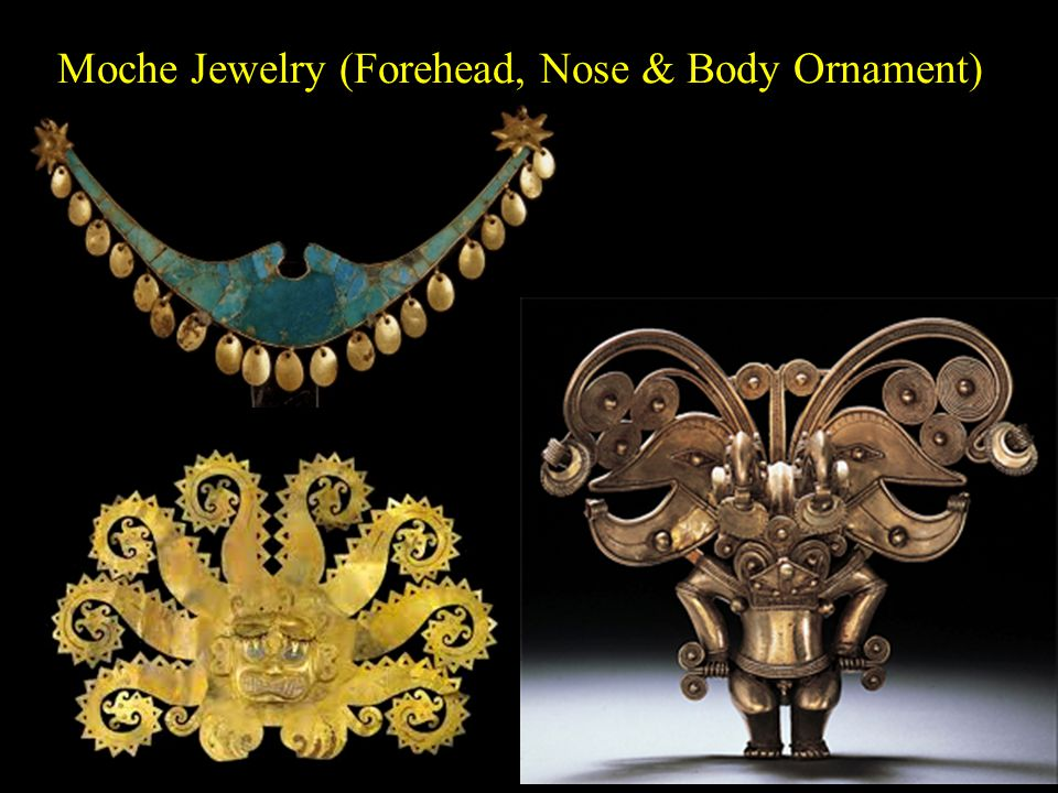 Moche Jewelry (Forehead, Nose & Body Ornament)