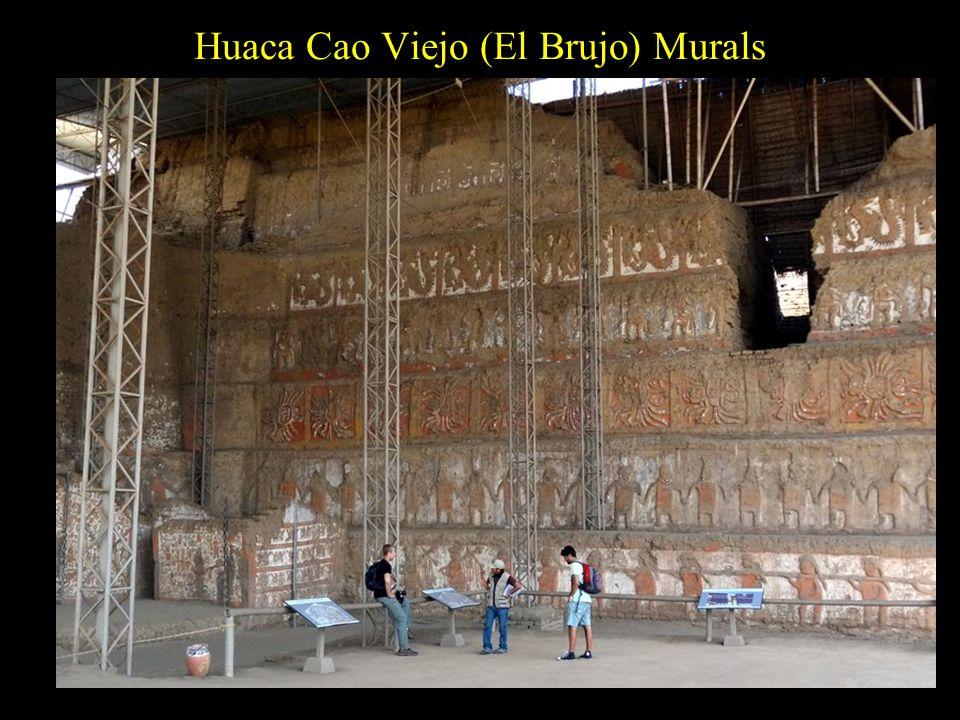 Huaca Cao Viejo (El Brujo) Murals