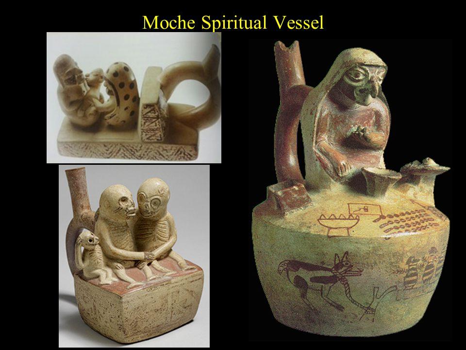 Moche Spiritual Vessel