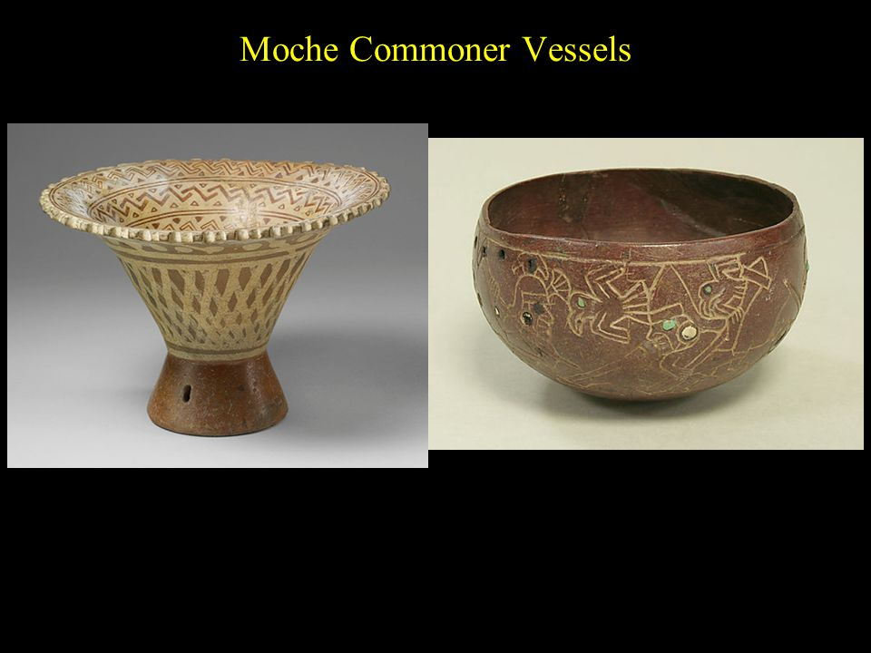 Moche Commoner Vessels