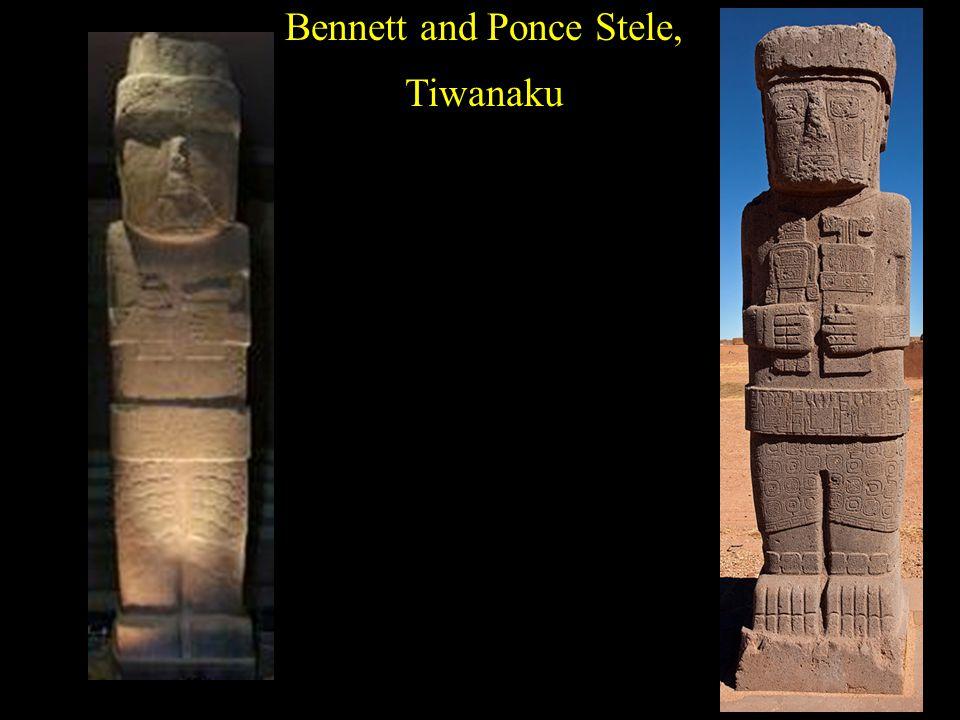 Bennett and Ponce Stele, Tiwanaku