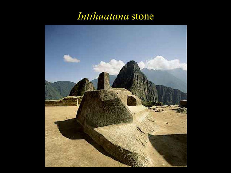 Intihuatana stone