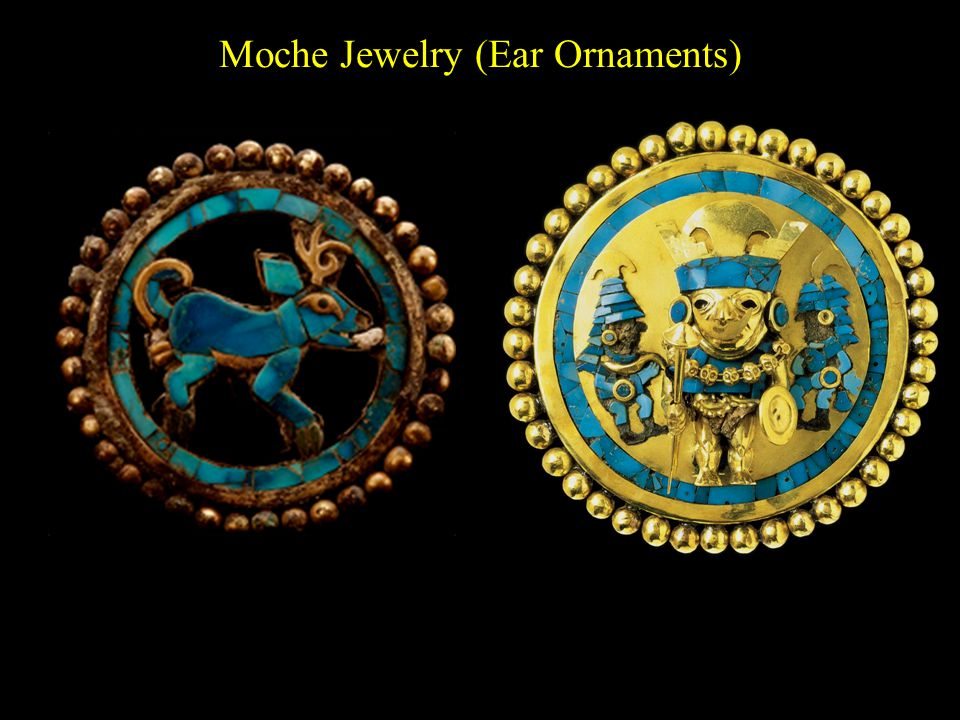 Moche Jewelry (Ear Ornaments)