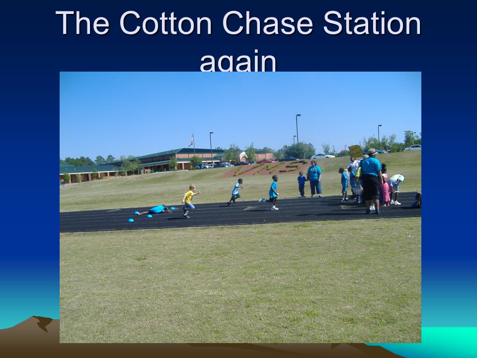 The Cotton Chase Station again