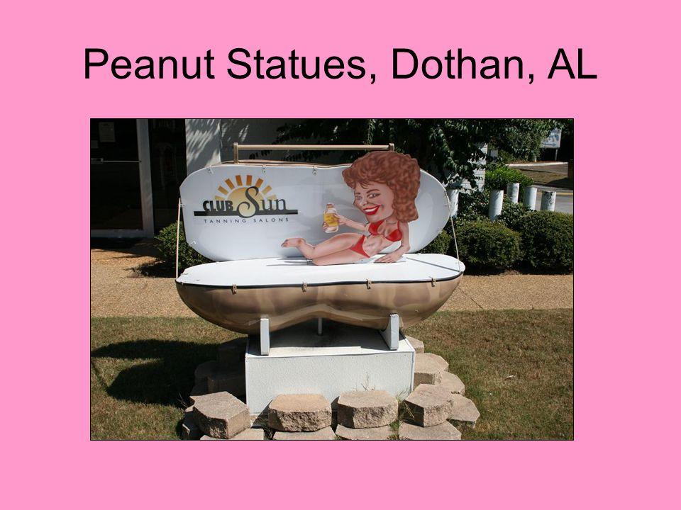 Peanut Statues, Dothan, AL