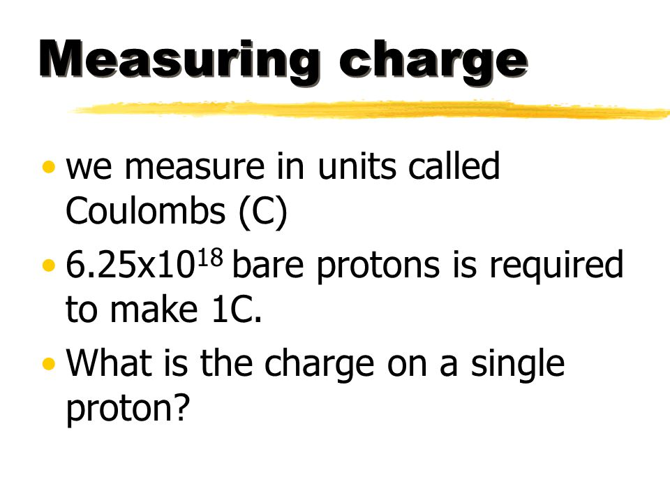 Example #2 A charge of -5 x 10 -8 C feels a force of 0.2 N to the right.