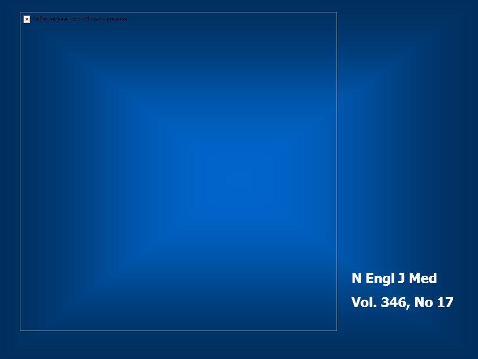 N Engl J Med Vol. 346, No 17