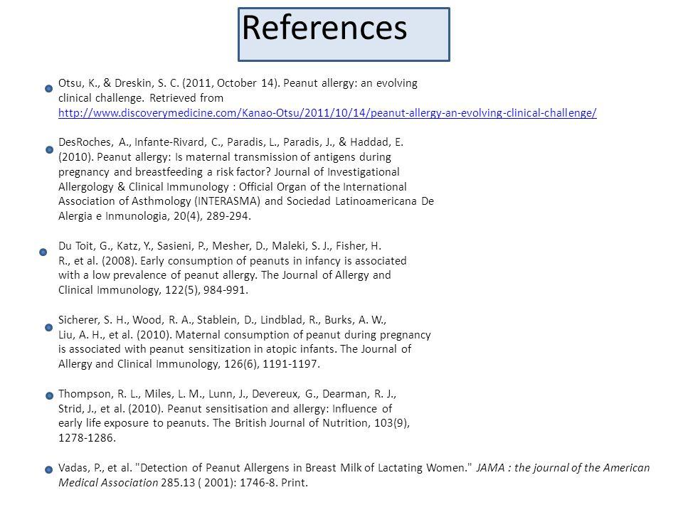 References Otsu, K., & Dreskin, S.C. (2011, October 14).