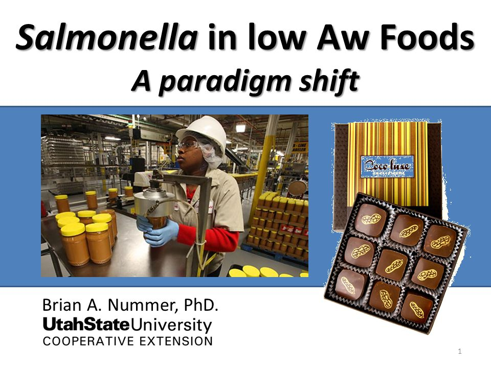 3.Prevent survival of Salmonella in foods using HACCP Salmonella controls 3.