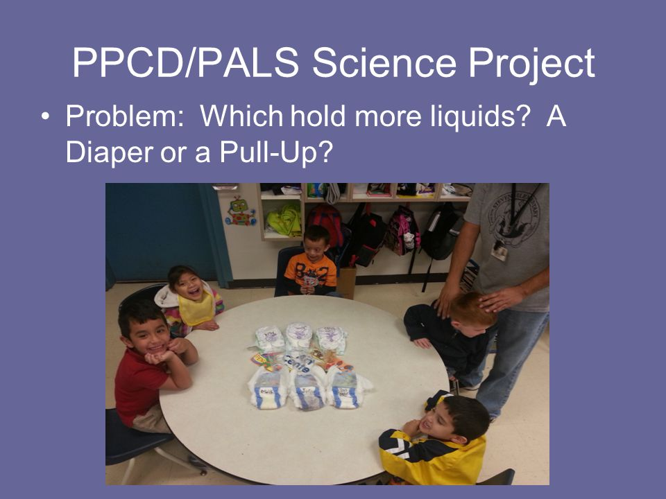 HYPOTHESIS Using three Luvs diapers and three non brand name pull ups.