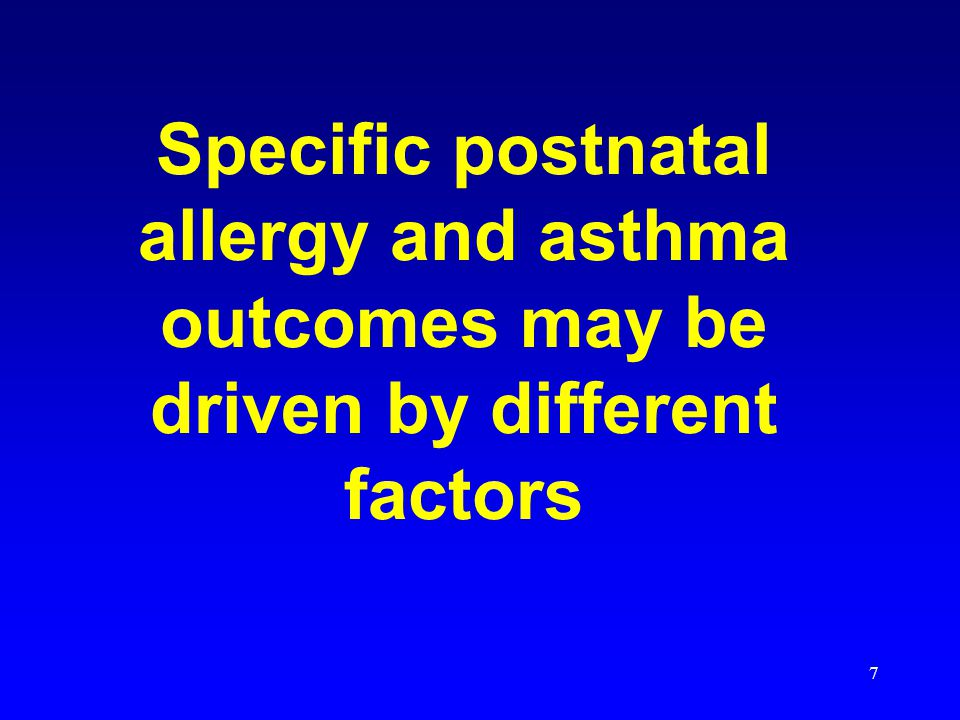 28 Maternal smoking in pregnancy and asthma in preschool children Pooled analysis of 8 European birth cohorts Effect of maternal smoking during pregnancy but not during the 1st year on wheezing and asthma at 4-6 years of age 21,600 children 735 exposed prenatally but not during the 1 st year Neuman, A.