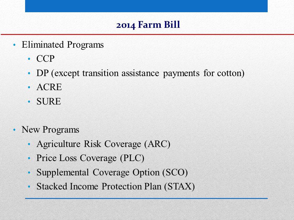 PLC vs.County ARC WheatPLCARC County/Program Yield4228 5 Yr Oly.