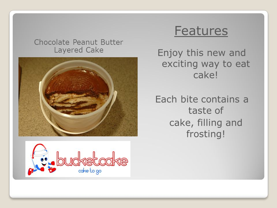 Chocolate Peanut Butter Layered Cake Features Enjoy this new and exciting way to eat cake.