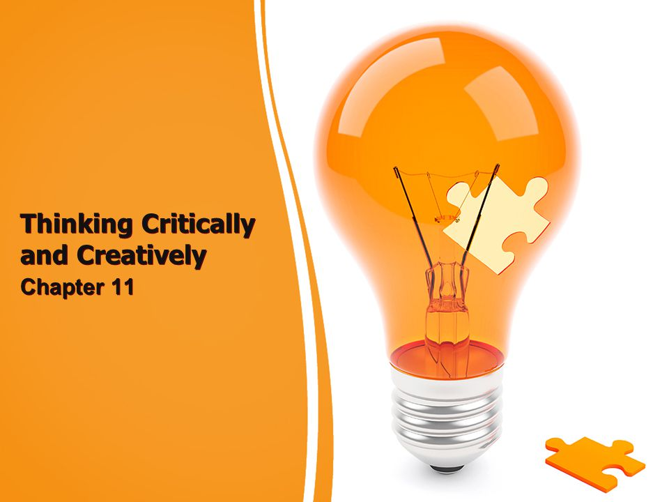 Thinking Critically and Creatively Chapter 11