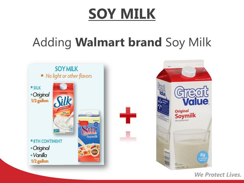 New Voucher Wording Current Voucher Wording SOY MILK: 2 half gallons Silk (original) OR 8 th Continent (Original OR Vanilla flavors only) SOY MILK: 2 half gallons soy milk SOY MILK