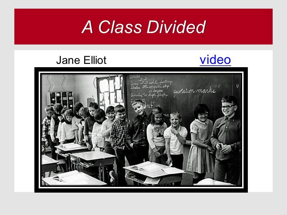 A Class DividedA Class Divided Jane Elliot video video