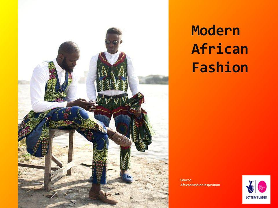 Modern African Fashion Source: AfricanFashionInspiration