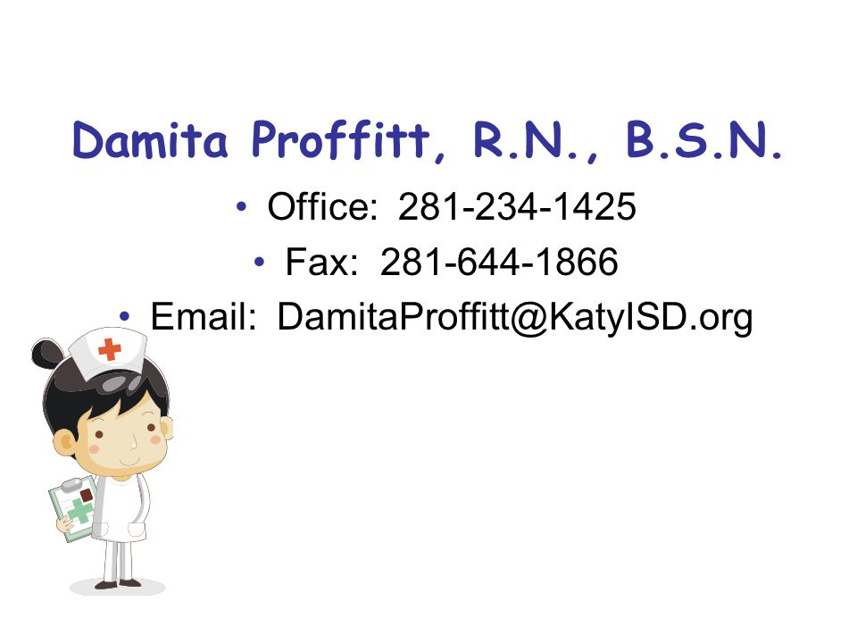 Damita Proffitt, R.N., B.S.N.