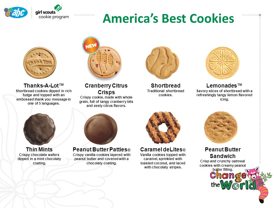*GSUSA, Nielsen All Outlet US Data - 52 weeks ending 4/20/13 A Powerful Brand Girl Scout Cookies