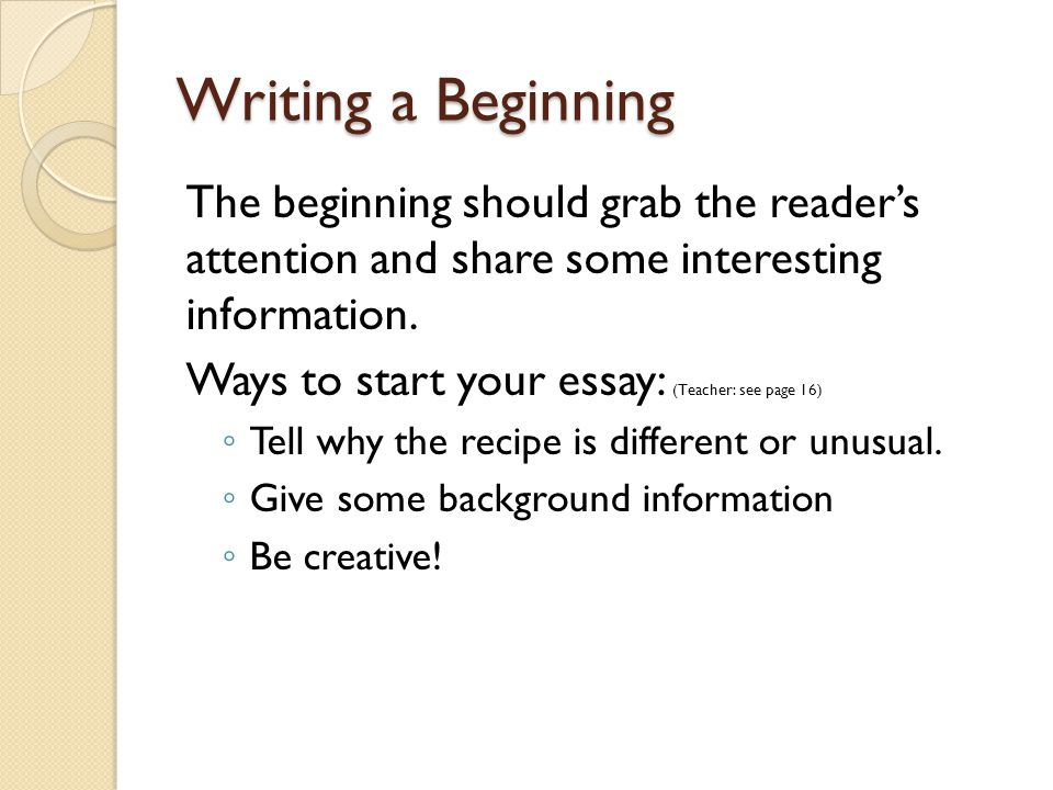 How to Begin an Essay (with Pictures) - wikiHow