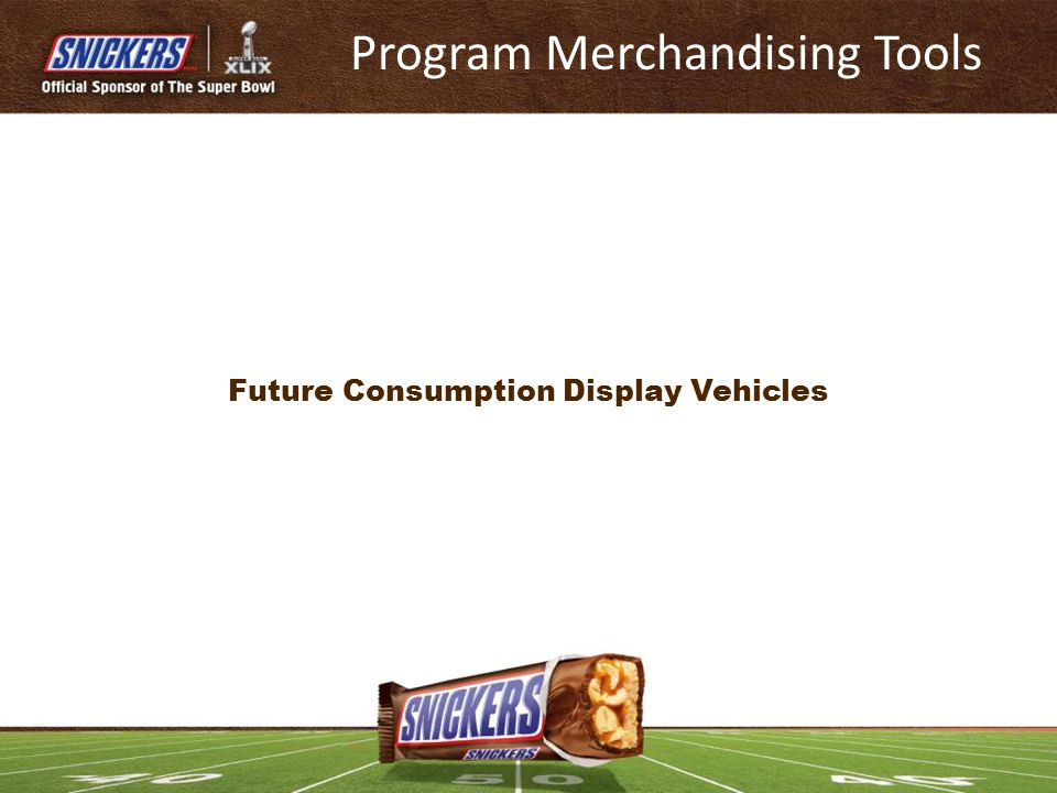 Future Consumption Display Vehicles