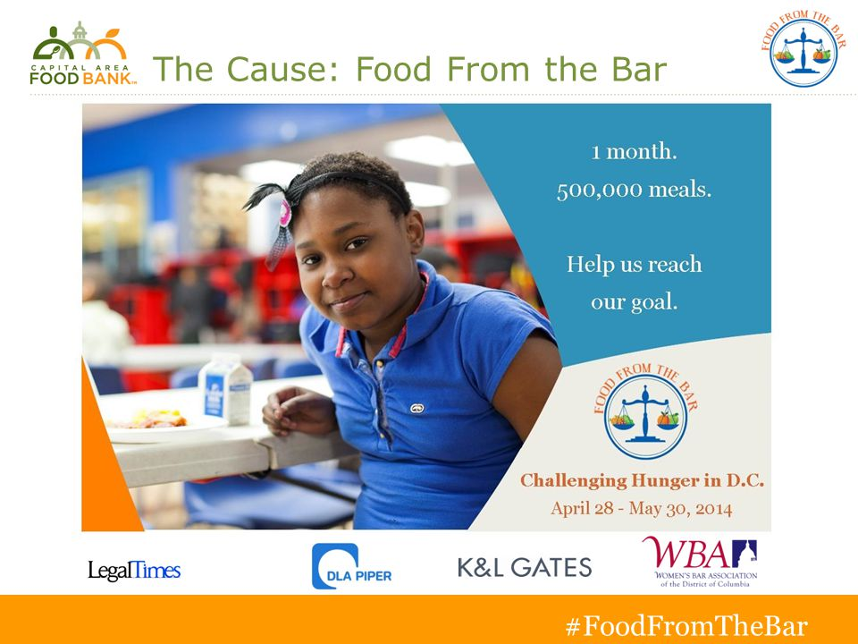 3 The Cause: Food From the Bar Insert jpeg from email with out donate or register button.