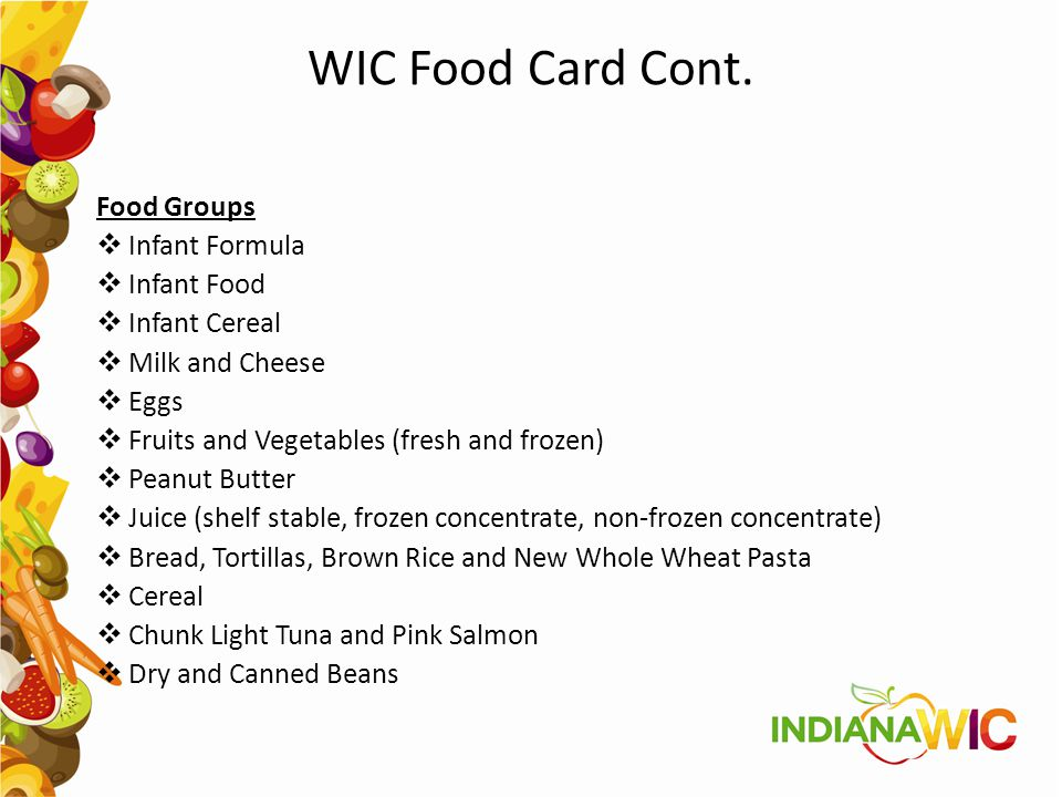 Message From Vendor Manager The Indiana WIC Program will pilot EBT in January 2016.