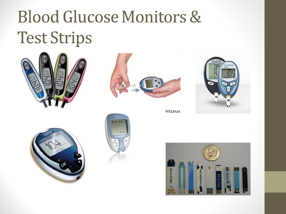 Blood Glucose Monitors & Test Strips