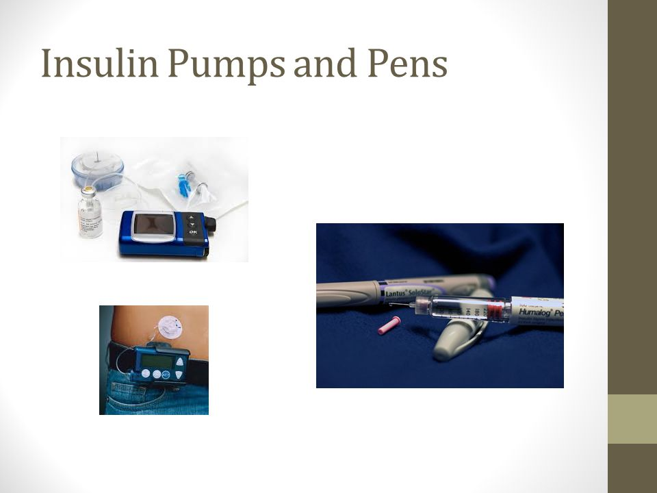 Insulin Pumps and Pens