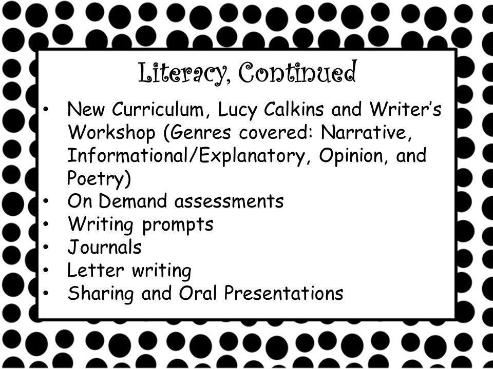 CCSS and Writers Workshop Narrative: personal narrative, fiction, historical fiction, fantasy, narrative memoir, biography, narrative nonfiction Opinion: persuasive letter, petition, persuasive speech, review, personal essay, persuasive essay, literary essay, historical essay, editorial, op-ed column, research-based argument essay Informational: how-to book, directions, recipe, lab report, fact sheet, news article, feature article, blog, website, report, memo, research report, nonfiction book