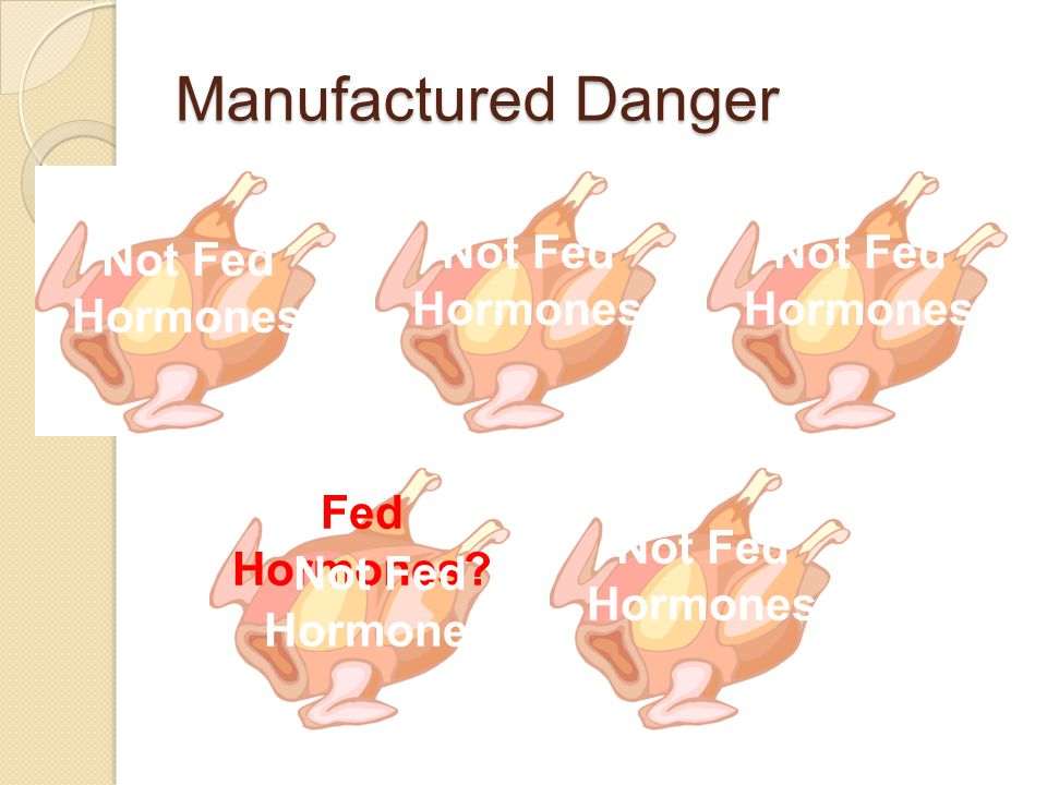 Manufactured Danger Not Fed Hormones Not Fed Hormones Not Fed Hormones Not Fed Hormones Fed Hormones.