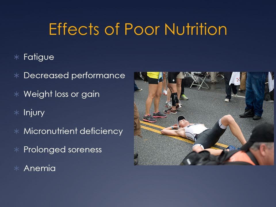 Food is Fuel  Food is the fuel that athletes use to practice and compete at their best  Under-fueling can cause performance to suffer  High school athletes tend to:  Skip breakfast  Eat at least one meal at school  Come to practice 4-5 hours after their last fueling