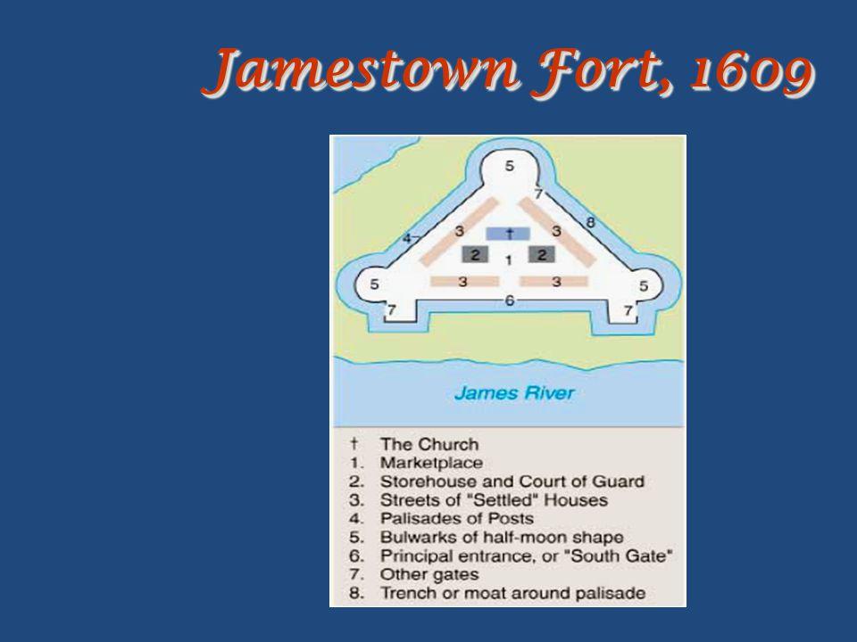 Jamestown Fort, 1609