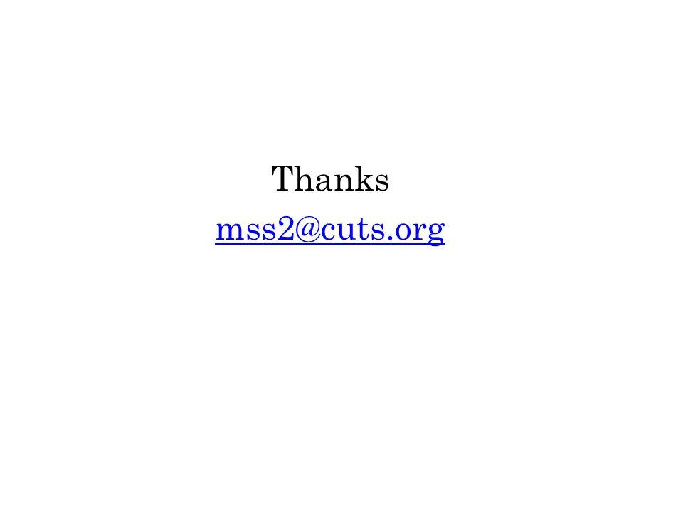 Thanks mss2@cuts.org