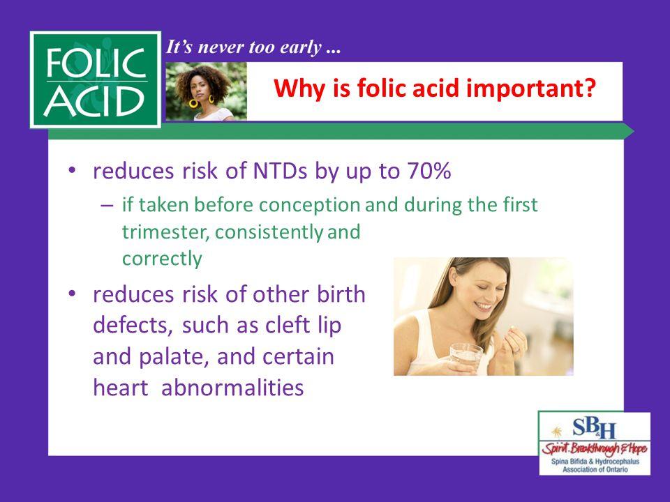 Why is folic acid important.