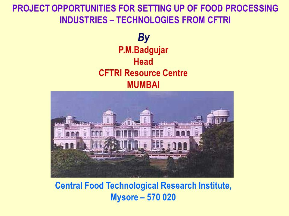 AUTOMATIC IDLI MAKING MACHINE - DESIGN FROM CFTRI CFTRI, Mysore has developed an automatic continuous idli making machine with a capacity to produce 1200 idlis per our.