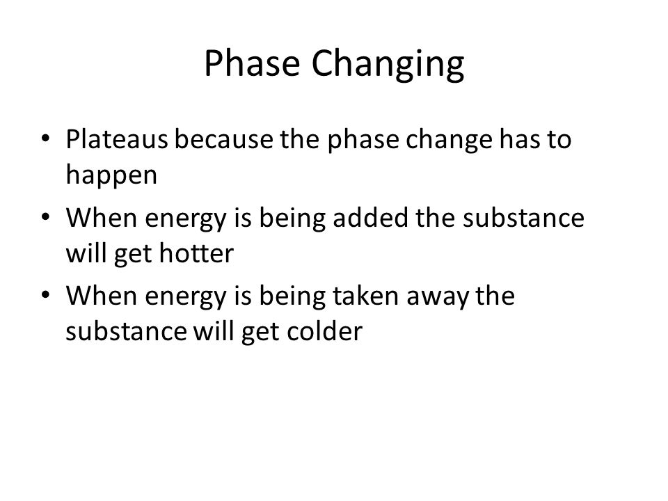 Phase Change By Kelly Krause