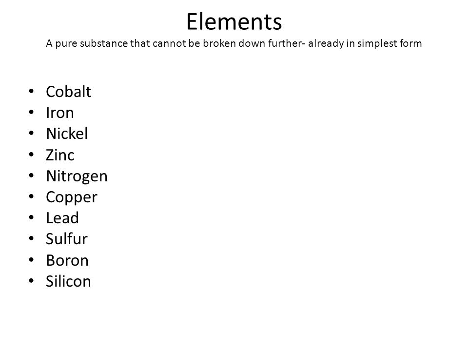 Elements, Compounds, and Mixtures By Kelly, Elsa and Rosa