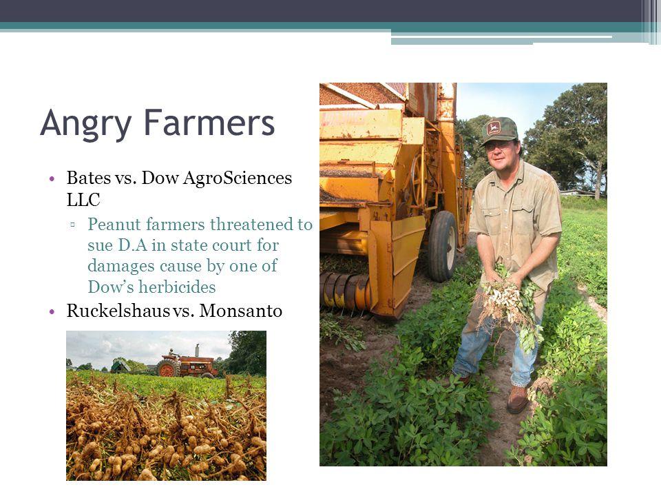 Angry Farmers Bates vs.